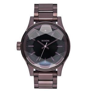 ニクソン NIXON ファセット FACET 腕時計 レディース オールプラム/ブラック NA3842172-00|first-store