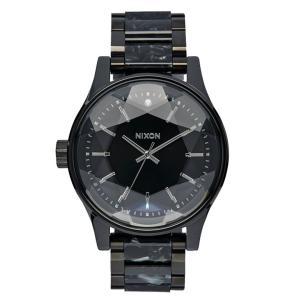 ニクソン NIXON ファセット FACET 腕時計 レディース ブラック/シルバー/マルチ NA3842185-00|first-store