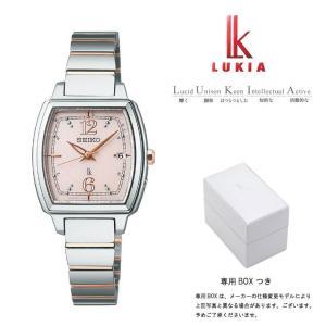 セイコー ルキア SEIKO LUKIA 電波 ソーラー 電波時計 腕時計 レディース 武井咲イメージキャラクター SSVW057|first-store