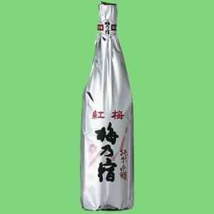 梅乃宿 純米吟醸 紅梅 1800ml(1)(●3)|first19782012