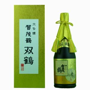 賀茂鶴 双鶴 大吟醸 精米歩合32% 720ml(豪華ギフト箱入り)(3)|first19782012