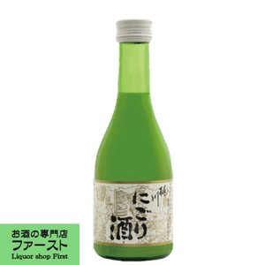 桃川 銀松 にごり酒 15度 極甘口 300ml(3)|first19782012