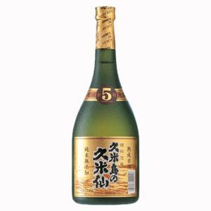 久米島の久米仙 ブラック 5年古酒 泡盛 40度 720ml(●1)(2)|first19782012