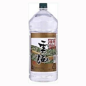 雲海 そば焼酎 25度 4000mlペット(1)