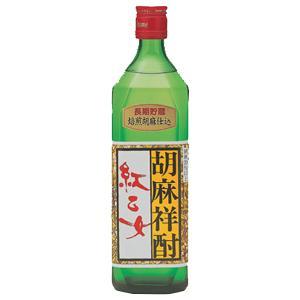 紅乙女 特選 角 長期貯蔵 ゴマ焼酎 25度 720ml(1)|first19782012