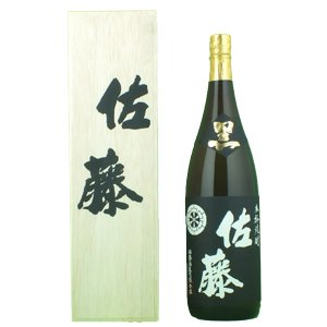 佐藤 黒 黒麹 芋焼酎 25度 1800ml(蔵純正桐箱入り)|first19782012