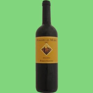 【オーガニックワイン・有機栽培ワイン】エンリコ・サンティニ ポッジオ アルモロ 赤 2012 750ml(1-V483)|first19782012
