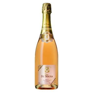 ゾエミ・ド・スーザ ロゼ・ブリュット ディスタンゲ 泡ロゼ 750ml(正規輸入品)(10-1771)(オーガニックワイン・有機栽培ワイン)|first19782012