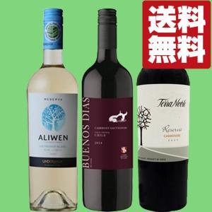 【送料無料・ワイン セット】 チリ金賞ワイン 赤2本・白1本 3本飲み比べセット|first19782012