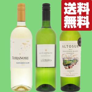 【送料無料・ワイン セット】 世界のソーヴィニヨン・ブラン 白ワイン 3本飲み比べセット|first19782012