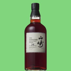 サントリー 山崎25年 シングルモルトウイスキー 43度 700ml(メーカー純正ギフトBOX入り)|first19782012|02