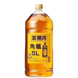 「お得!業務用サイズ」 サントリー 角瓶 40度 5000mlペットボトル(3)