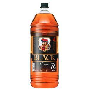 ニッカ ブラックニッカ クリア ブレンド 37度 4000mlペットボトル(3)|first19782012