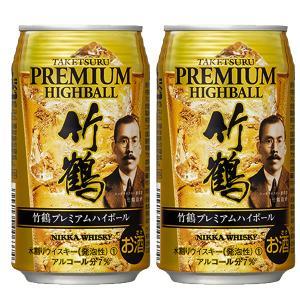ニッカ 竹鶴 プレミアム ハイボール 7% 350ml缶(1ケース/24本入り)(1)|first19782012