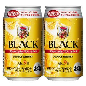 ニッカ ブラックニッカ クリア ハイボール 9% 350ml缶(1ケース/24本入り)(3)|first19782012