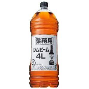 ジムビーム ホワイト 40度 業務用 4000mlペットボトル(正規輸入品)(3)|first19782012