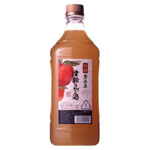 サントリー 特撰果実酒房 青森産津軽りんご酒 コンクタイプ 1800mlペット(3)|first19782012