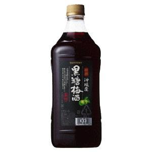 サントリー 梅酒 特撰 沖縄産黒糖梅酒 コンクタイプ 1800mlペット(3)|first19782012