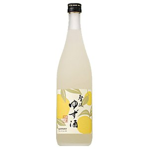 サントリー 贅沢ゆず酒 720ml瓶(3)|first19782012