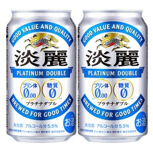 キリン 淡麗 プラチナダブル 発泡酒 350ml(1ケース/24本入り)(1)○|first19782012