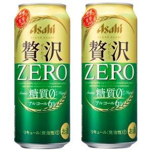アサヒ クリアアサヒ 贅沢ゼロ 新ジャンル 500ml(1ケース/24本入り)(3)○|first19782012
