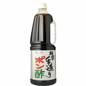 「いつも品薄」 板前手造り ポン酢 1800mlペットボトル(1)|first19782012