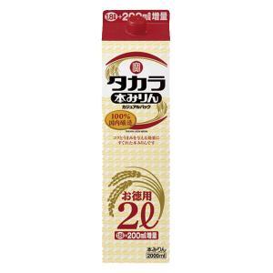 宝 本みりん カジュアルパック 2000mlパック(2L)(1) first19782012
