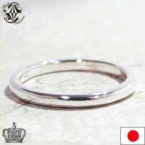指輪 レディース 純銀 シルバー リング 甲丸 SV1000 シンプル メンズ|firstcollection