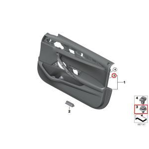 BMW純正ドア内装クリップ51417325082  ドア内張を剥がす際に折れてしまうことがあります。...