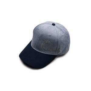 ALPINA アルピナ 純正 グレー/ブルー・キャップ 帽子 フリーサイズ(7600756)/D3D...