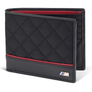 BMW純正北米限定Mロゴ メンズ 2つ折り財布/ウオレット BMWジャパンでは販売致しておりません。...