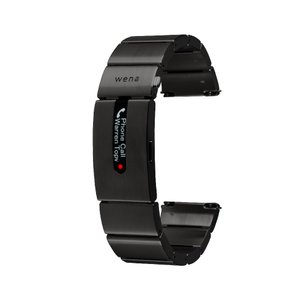 wena wrist pro Premium Black|firstflight