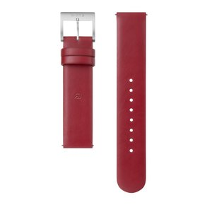 wena wrist leather 18mm用 -Wine Red-|firstflight