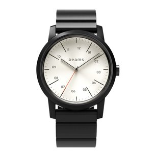 wena wrist Three Hands Premium Black WD -beams edition- + wena wrist Premium Black|firstflight