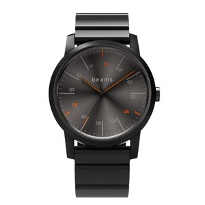 wena wrist Three Hands Premium Black BD -beams edition- + wena wrist Premium Black|firstflight