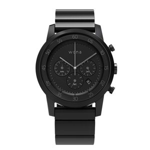 wena wrist -Chronograph Premium Black-|firstflight