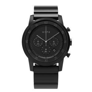 wena wrist -Chronograph Premium Black-|firstflight