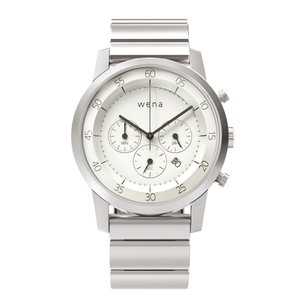 wena wrist -Chronograph White-|firstflight