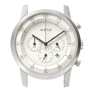 wena wrist用 Chronograph White Head|firstflight