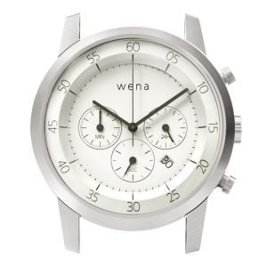wena wrist用 Chronograph White Head