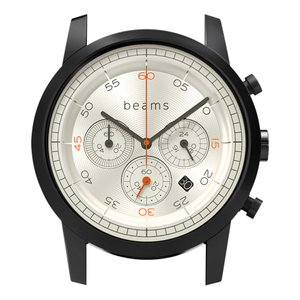 wena wrist Chronograph Premium Black WD -beams edition- Head|firstflight