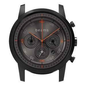 wena wrist Chronograph Premium Black BD -beams edition- Head|firstflight