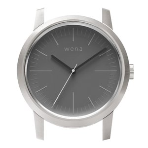 wena wrist用 Three Hands Silver Head|firstflight
