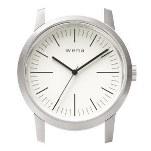 wena wrist用 Three Hands White Head|firstflight