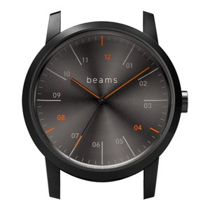 wena wrist Three Hands Premium Black BD -beams edition- Head|firstflight