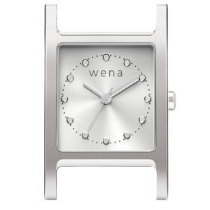 wena wrist Three Hands Square Silver Head|firstflight