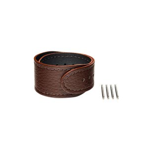 wena 3 leather band 22mm Brown|firstflight