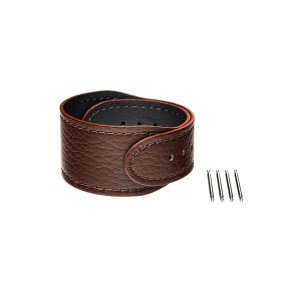 wena 3 leather band 24mm Brown|firstflight