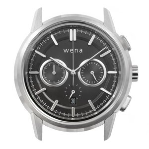 wena wrist Chronograph Classic Silver head|firstflight