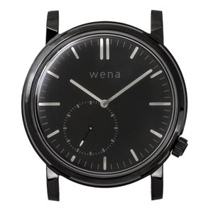 wena wrist Three Hands Retro Premium Black head|firstflight